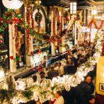 Lillies Establishment Bar Decorated for Christmas