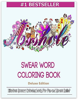 Adult Coloring Books, gift ideas, gag gift