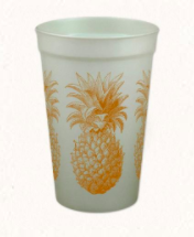 Pineapple Plastic Cup from Alexa Pulitzer