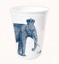 Elephant Plastic Cup from Alexa Pulitzer