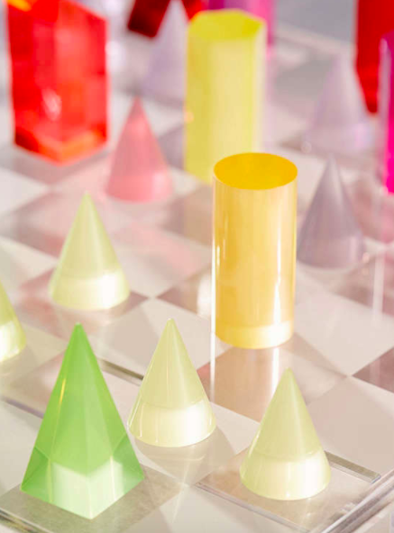 Urban Outfitters Acrylic Chess Set