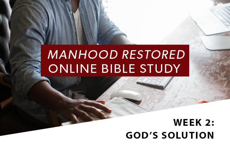 Manhood Restored Online Bible Study [Session 2]