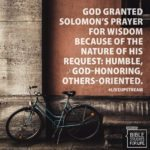 Upstream—Session 2—Solomon: Unfailing Wisdom