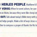 Week of February 11- Jesus Healed People Social Media