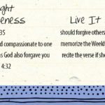 Week of February 25 – Jesus Taught About Forgiveness Social Media