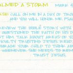 Week of May 13 – Jesus Calmed a Storm – Social Media Plan