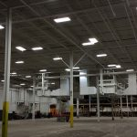 Packaging facility painting job