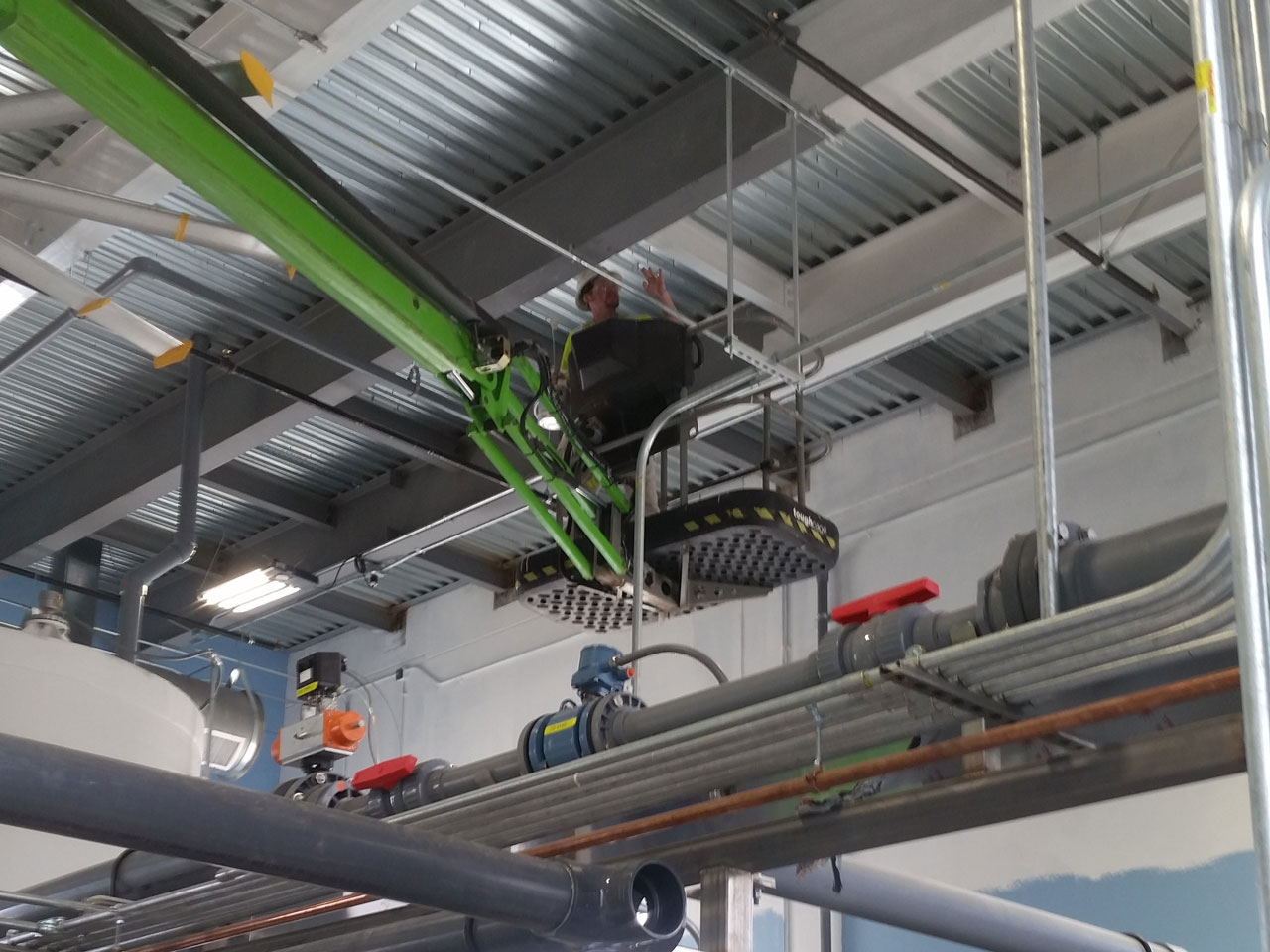 waste water expansion for Unilever