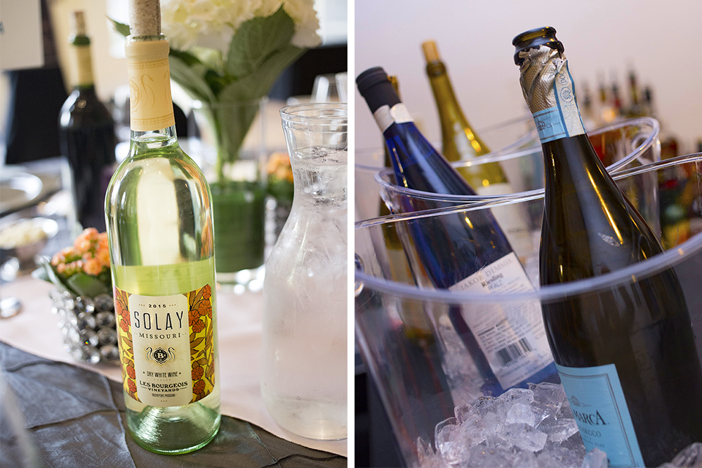 A an assortment of wines at an event by Bleu Events