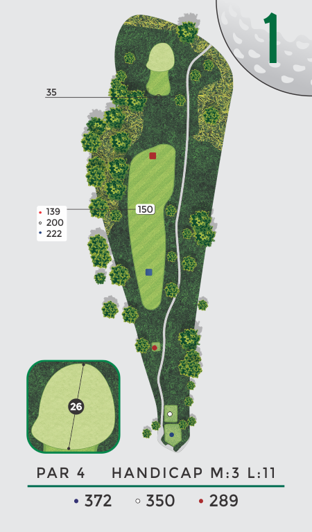 LA Nickell Hole 1 Overhead View