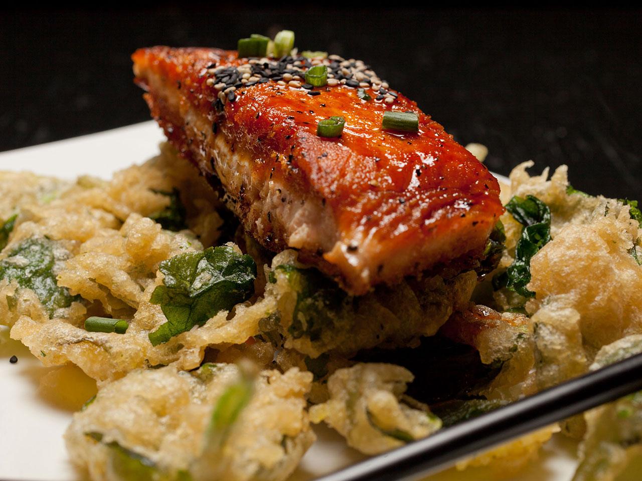 salmon-entree