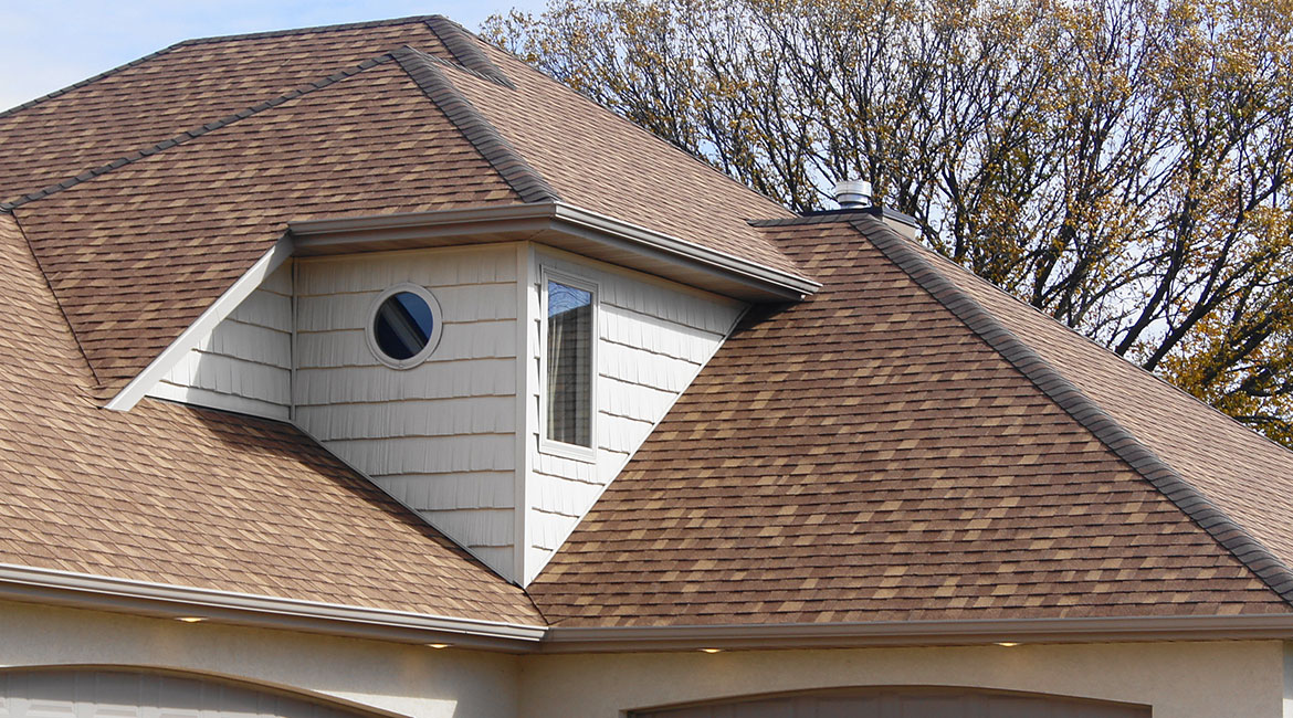 Decorative roof customaztion installed by TrueSon Exteriors
