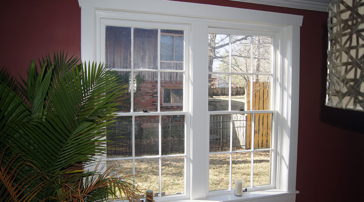 Fiberglass windows installed by TrueSon Exteriors