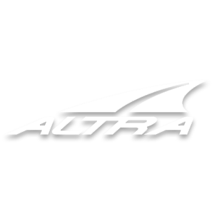 Altra athletic brand in white