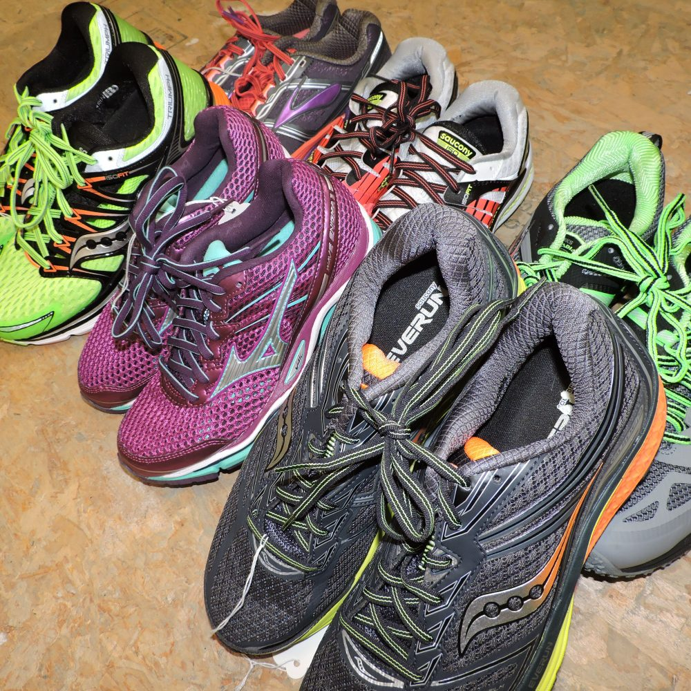 6 pairs of running sold by Tryathletics