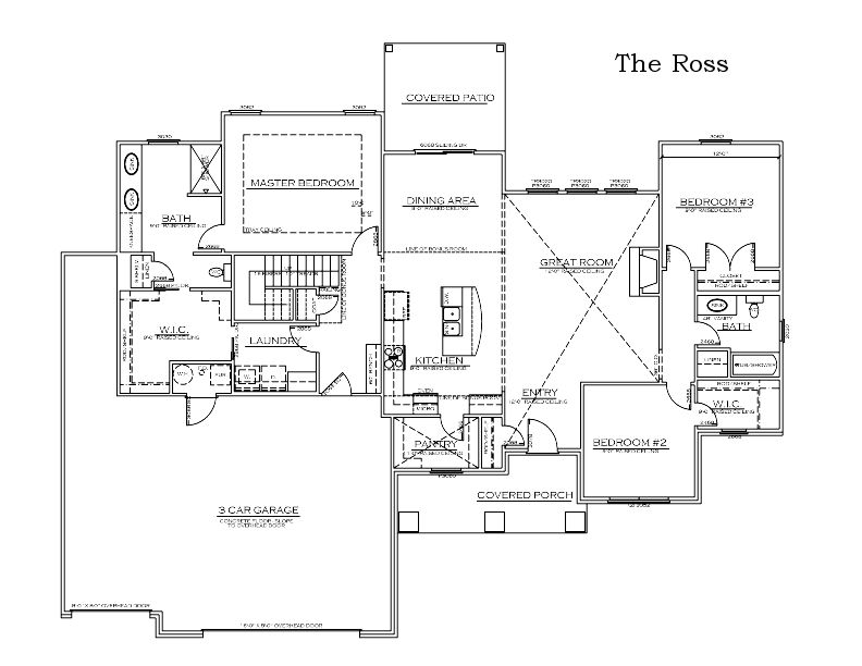 The Ross Custom Floor Plan in Columbia, Mo