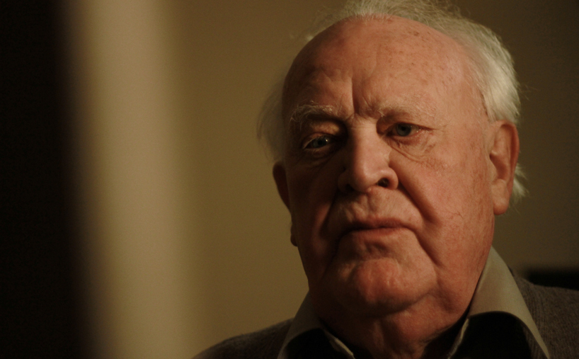 Joss Ackland in The Portrait, photo by Anne Siegel