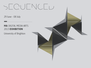 Sequenced MA Show 2013 - artwork by Anastasios Veloudis