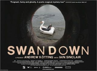 Swandown (2013) Andrew Kotting & Ian Sinclair. Poster Anonymous Bosh