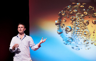 Luke Jerram speaker at Improving Reality 2012