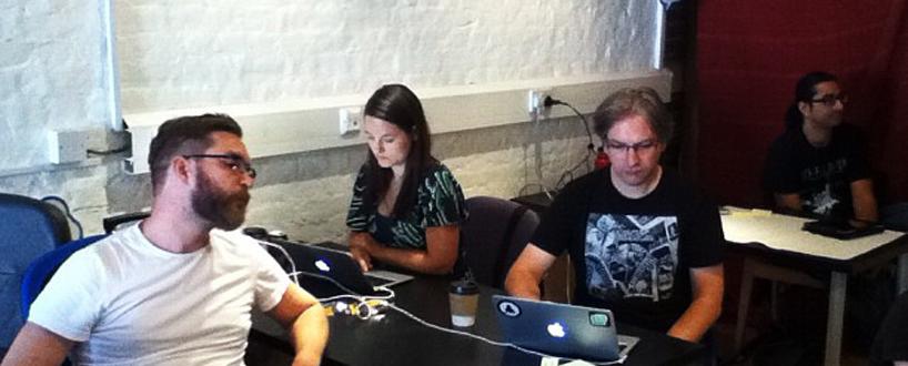 Creators at IndieWebCampUK 2012. Image Credit: Tantek Çelik