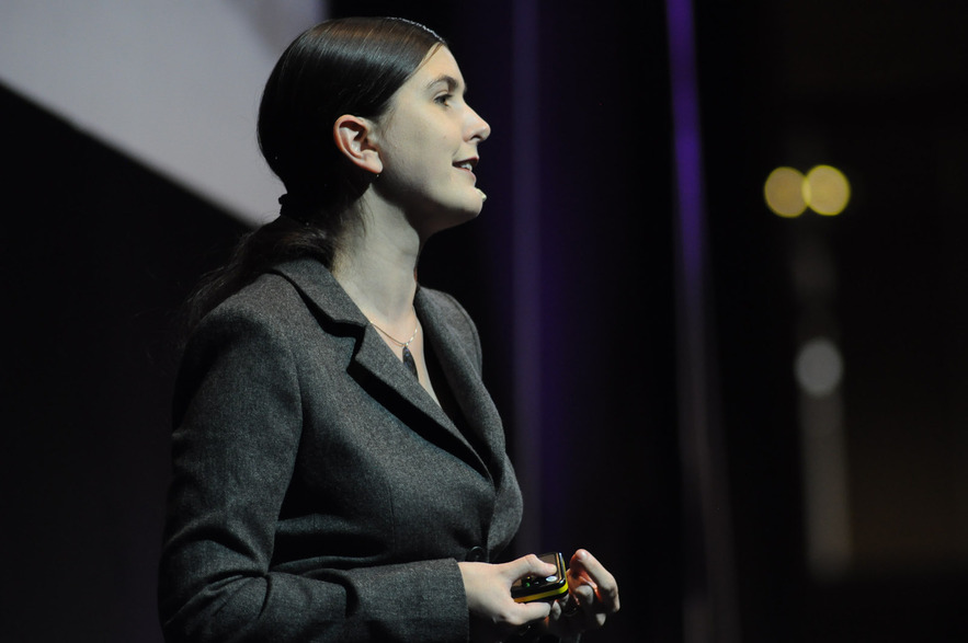 Honor Harger speaking at Lift Conference 2011