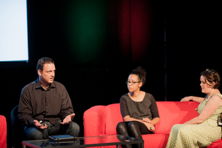 Scott Smith, Farida Vis and Georgina Voss at Improving Reality 2013