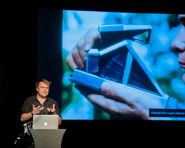 Timo Arnall, a speaker at Improving Reality 2013