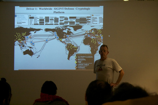 Duncan Campbell unpacks the Snowden revelations at Brighton Cryptofestival 2013