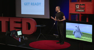Aral Balkan presents Grab Magic at TED London, 2012
