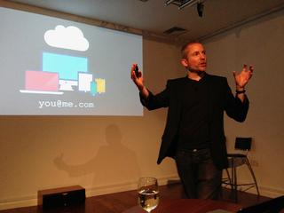 Aral Balkan gives our November Monthly Talk as part of his residency.
