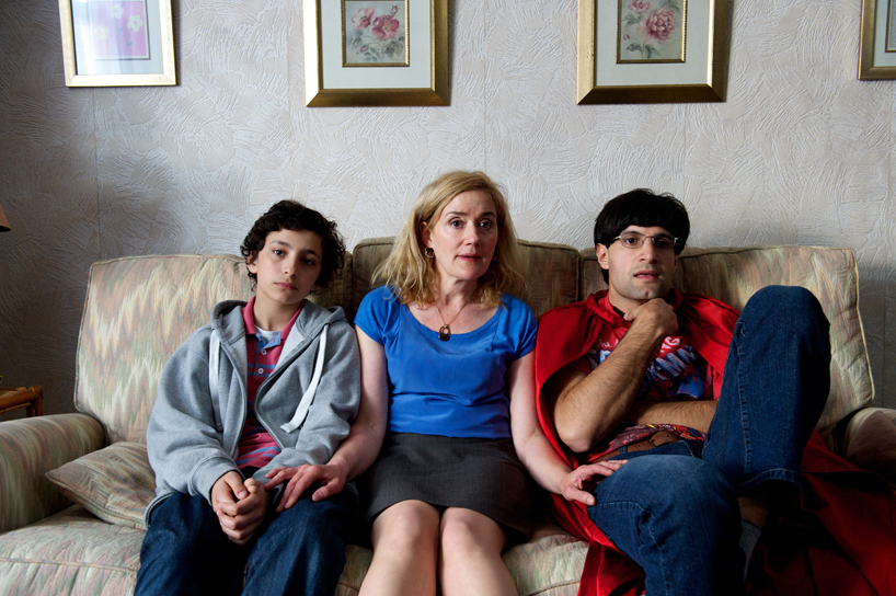 Jayden Revri, Sophie Thompson and Kayvan Novak in Mohammed