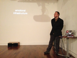 Mark Simpkins at his Show and Tell, December 2013