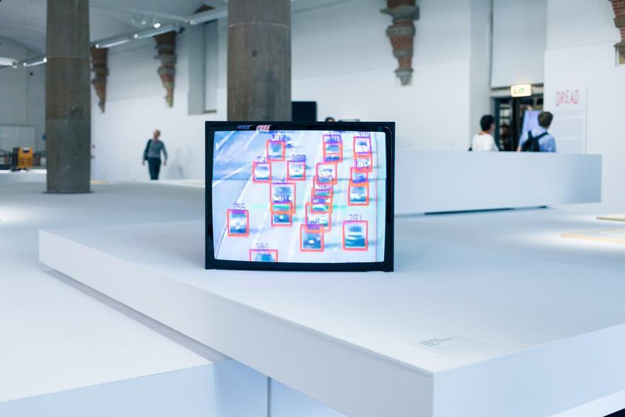 Timo Arnall's Robot Readable World at Dread, curated by Juha van 't Zelfde at De Hallan Haarlem, November 2013