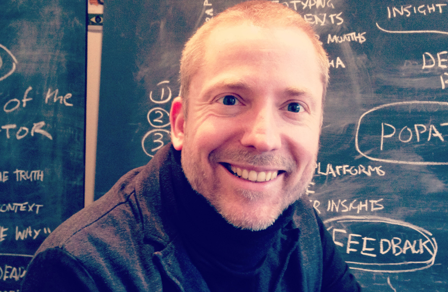 Aral Balkan, in the studio, 2014