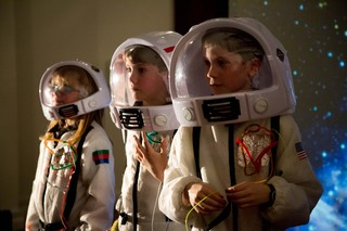 Three cosmonauts go into space at our Kid's Filmmaking Workshop for Orbit Ever After
