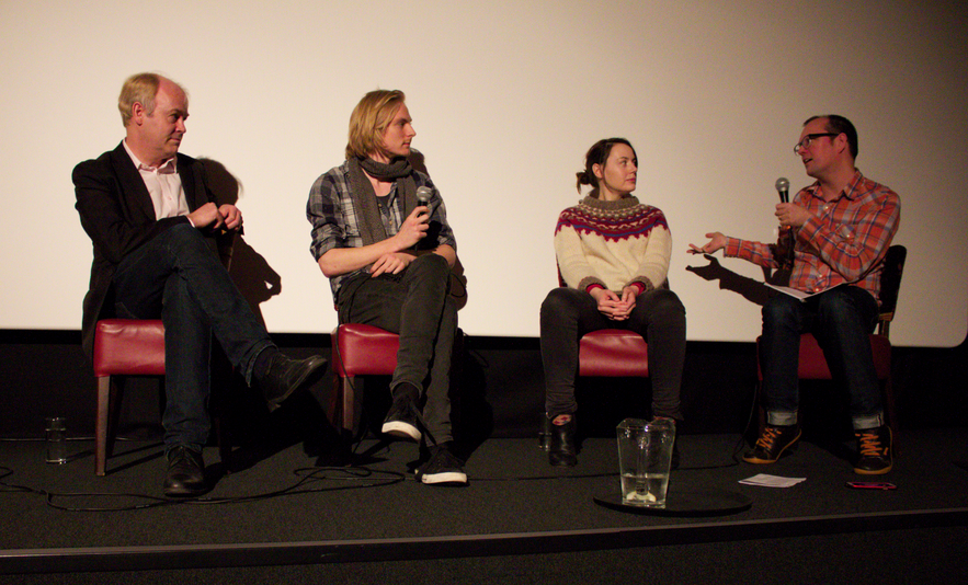 Our Orbit Ever After Panelists (l-r): Doug Millard, Jamie Stone, Helen Keen and Neil Denny.