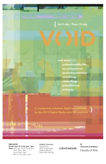 VOID - MA Digital Media Arts Show