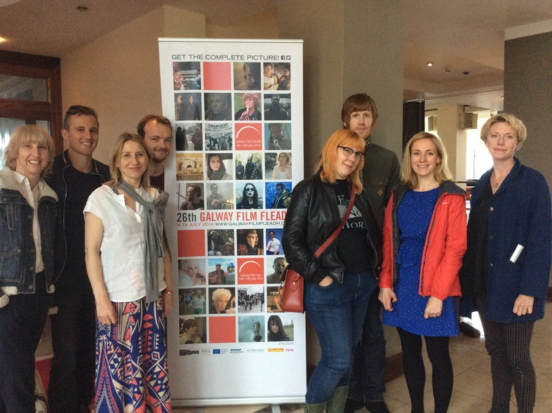Guiding Lights mentees at Galway Film Fleadh