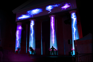 Mock up of Laser Light Synths at BDF 2014