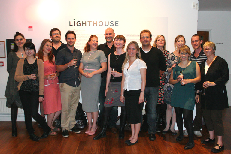 Staff and board members celebrate Lighthouse's 25th Birthday