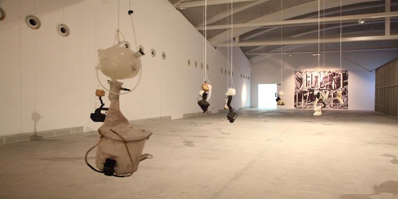 Roger Hiorns, Untitled (2014), installation view, courtesy Corvi-Mora