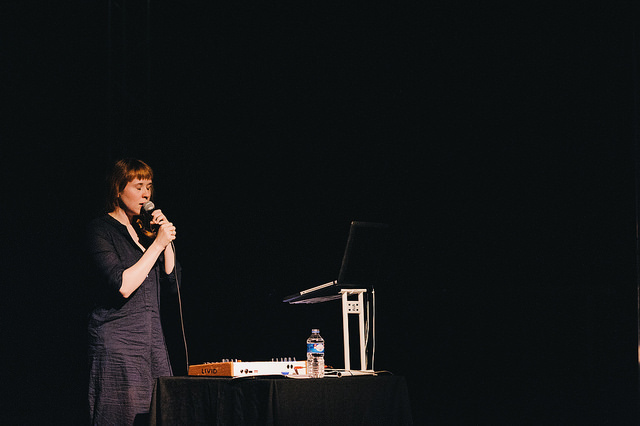 Holly Herndon - Improving Reality 2014 Speaker. Photo by Roberta Mataityte