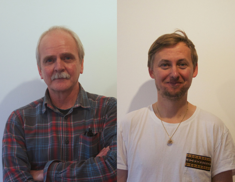 Neil Cargill and Simon James