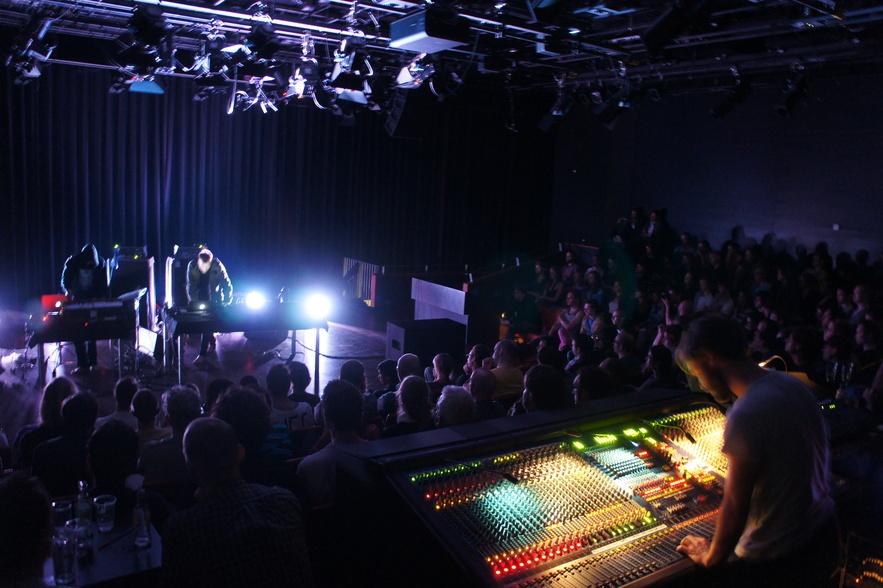 Ben Frost live at Viral Radio at Bimhaus