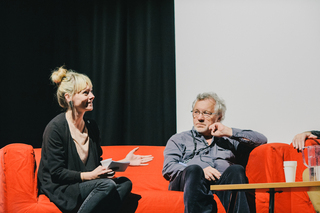 Anna Bertmark and Ray Beckett at The Sound of Story 2014