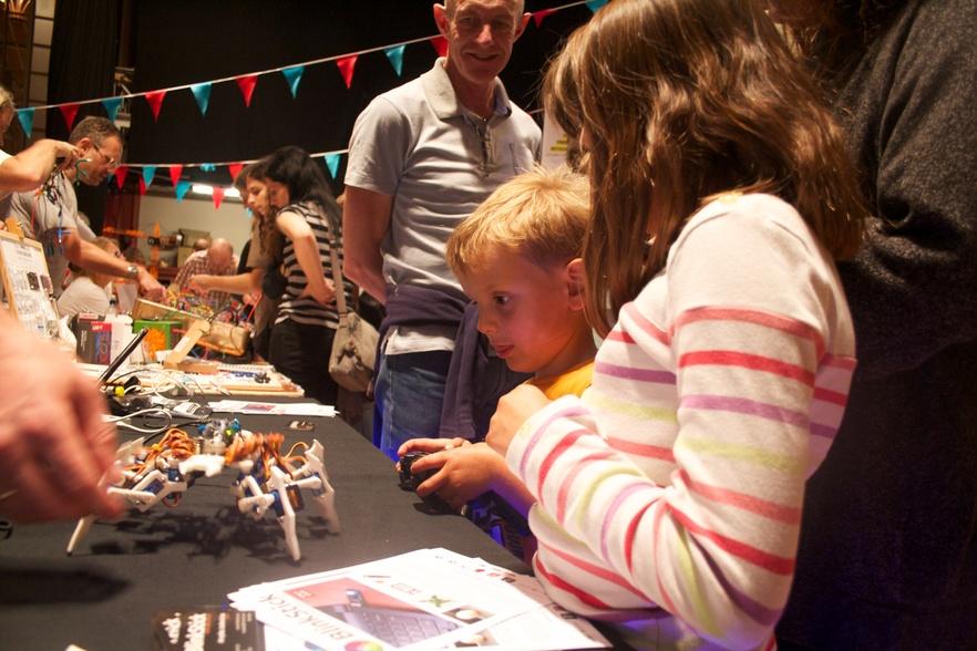 Art at Work at Brighton Mini Maker Faire