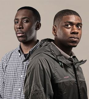 Elijah (left) & Skilliam run Butterz, a label, blog and radio show on Rinse FM