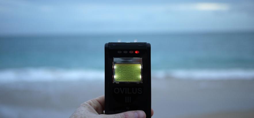 Evan Roth: Voices over the Horizon (courtesy Carroll / Fletcher)