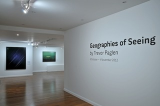 Trevor Paglen, Geographies of Seeing, at Lighthouse in 2012